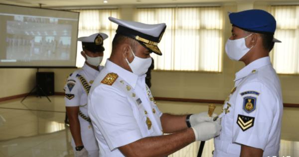 Komandan STTAL Buka Pendidikan Mahasiswa Prodi S2, S1 dan D3 STTAL Tahun 2021