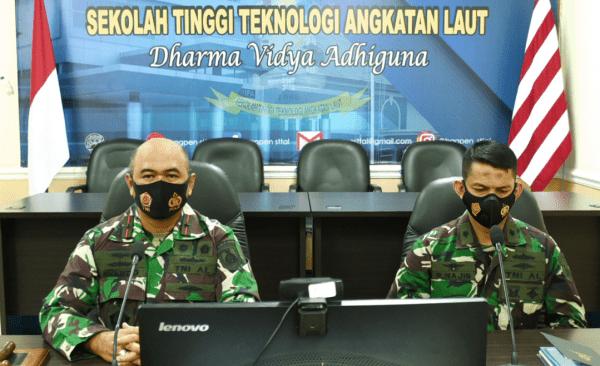 Komandan STTAL Secara Resmi Membuka Masa Orientasi Mahasiswa (MOM) STTAL
