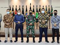 Bangun Sinergi, Pangdam XII/TPR Terima Kunjungan PT Pertamina MOR VI Kalimantan