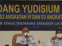 Komandan STTAL Pimpin Sidang Yudisium Mahasiswa STTAL
