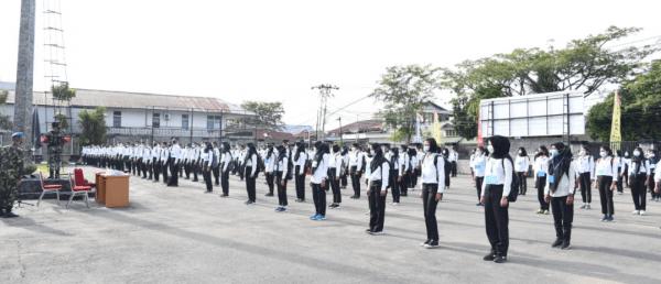 264 ORANG CASIS CABA PK TNI AL TERIMA PEMBEKALAN PANDA LANTAMAL XII PONTIANAK