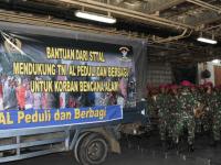 Civitas Akademika STTAL Beri Bantuan Masyarakat Korban Bencana Alam Mamuju Sulbar dan Kalsel