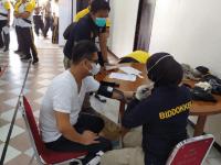 Personil Polres Kubu Raya Laksanakan Pemeriksaan Kesehatan Berkala
