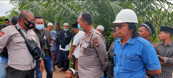 Tewas Setelah Alami Kecelakaan Kerja Polsek Kuala Mandor B Datangi PT. PLK