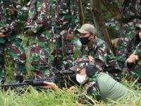 Petembak Jitu Yonif 315/Garuda Siap Tumpas Gerakan Separatis