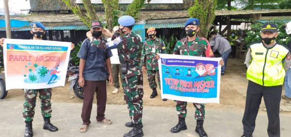TNI-POLRI Dan SATPOL-PP Kab.Kubu Raya Lakukan Pendisplinan Prokes, 109 Orang Terjaring Tak Gunakan Masker