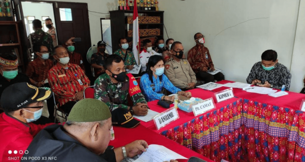 Dandim 1201 bersama Bupati Landak Resmikan Renovasi RTLH di Pahauman