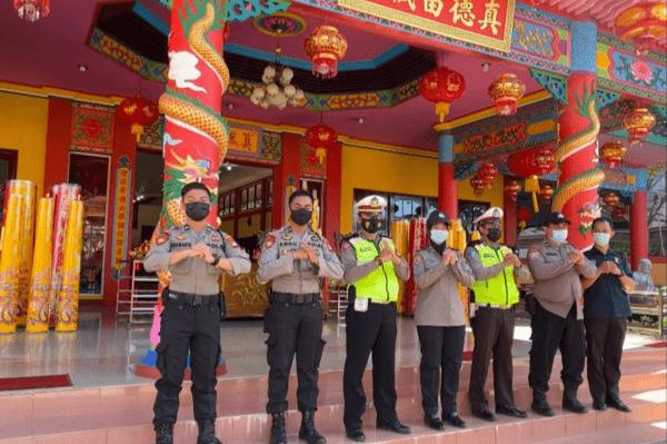 Kapolres: Pelaksanaan Ibadah Menyambut Perayaan Tahun Baru Imlek 2572 Di Kubu Raya Berjalan Aman