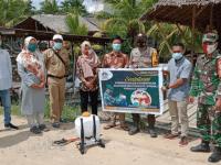 Kampanyekan PPKM Skala Mikro, Koramil Teluk Batang Bersama Satgas Covid-19 Bentuk RT Tangguh