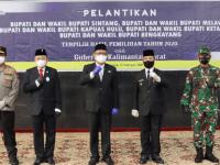 Hadiri Pelantikan Bupati dan Wakil Bupati Terpilih di Kalbar, Pangdam XII/TPR : Sinergi dan Kerjasama Terus Dilanjutkan