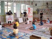 UNIQLO Menggelar Art Workshop Bersama Anak-Anak Panti Asuhan Bunda Pengharapan Kubu Raya Menggandeng Ilustrator Lokal Membuat Karya yang Terinspirasi dari Mendiang Jason Polan