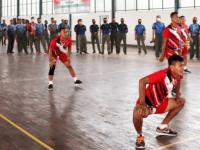 Buka Pertandingan Voli Putra, Pangdam XII/Tpr : Jaga Kesehatan Prajurit dan Jalin Silaturahmi