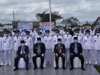 Bupati Melawi, H. Dadi Sunarya Usfa Yursa Lantik 111 Kepala Desa Terpilih Hasil Pilkades Serentak Tahun 2020