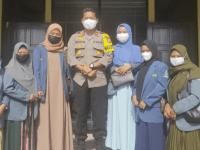 Wakapolres Kubu Raya Terima Kunjungan Ikatan Pelajar Putri Nahdatul Ulama (IPPNU) Kubu Raya