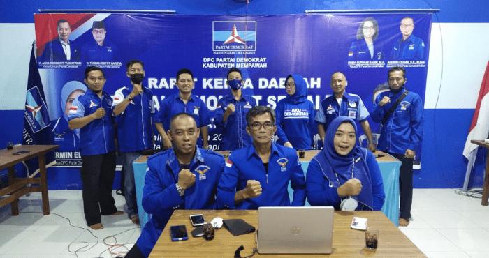 DPC PD Kabupaten Mempawah, Solid, Setia, Loyal Tetap Dukung AHY Ketum DPP PD