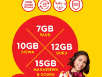 Indosat Ooredoo Dukung Penuh Program Pemerintah Berikan Bantuan Kuota Data Internet PJJ Tahap II