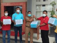 3 Yayasan Pemakaman Sungai Pinyuh Serahkan Ratusan APD di 1 RS D Dr. Rubini dan 6 Puskesmas