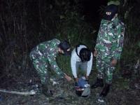Empat Pekerja Migran Ilegal Diamankan Satgas Yonif 407/PK di Jalur Tidak Resmi
