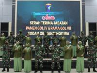 Pangdam XII/Tpr Pimpin Sertijab Enam Pamen Kodam