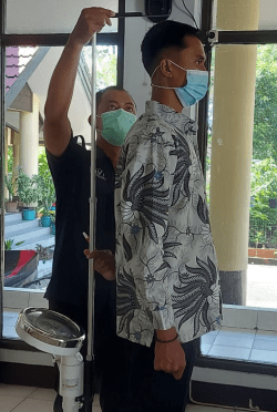 Polres Kubu Raya Laksanakan Verifikasi Penerima Calon Anggota Polri TA 2021