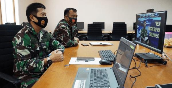 Kadeprenalog STTAL Hadir dan Mengikuti Rakorlog TNI AL TA.2021