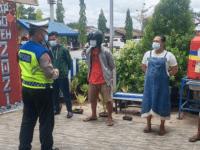 Satlantas Polres Kubu Raya lakukan Himbauan Pengendara Patuh Protokol Kesehatan Covid-19