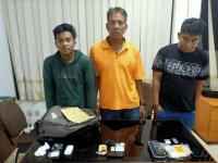 Tim Tiger Sat Resnarkoba Polres Kukar Ungkap peredaran gelap Narkotika