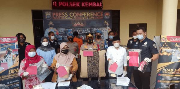 Polsek Kembangan, Jakarta Barat, Ungkap  Kasus Pencabulan Anak di Bawah Umur