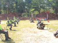 Pembinaan Satuan Kodam XII/Tpr Gelar Lomba Menembak Satpur dan Satbanpur