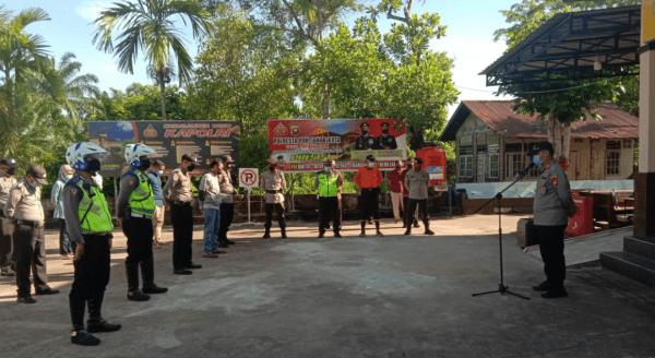 Mempermudah identifikasi di TKP Kapolsek Pontianak Timur : Akp Prayitno Himbau Tempat Ibadah dipasang CCTV