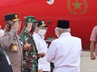 Pangdam XII/Tpr Pimpin Langsung Pam VVIP, Agenda Kunker Wapres Berjalan Lancar dan Aman