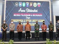 Kapolda Kalbar dan Pangdam XII Tanjungpura Dan Gebernur Kalbar Sambut Kedatangan Menkopolhukam Dan Mendagri di Kalimantan Barat