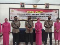 Kapolres Kubu Raya Pimpin Upacara Serah Terima Jabatan Wakapolres dan Kapolsek