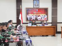 Pangdam XII/Tpr dan Gubernur Pimpin Rapat Evaluasi Penanganan Covid-19 di Perbatasan