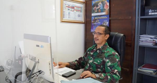 Kadep Akademik STTAL Mengikuti Rapat Pokja SBK Ditjen Renhan Kemhan TA.2022