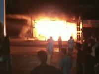 Kebakaran Kembali Teradi, 3 Ruko di Lalap Sijago Merah