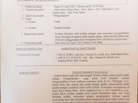 Adi Tulle Lurah Olafulihaa Bersama Devi Tulle Aniaya Sopir Truck Hingga Babak Belur
