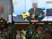 STTAL Menghadiri Perayaan Paskah TNI AL Wilayah Surabaya Tahun 2021