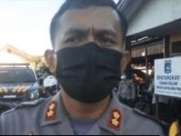 Polisi Amankan 9 Orang Bawa Kembang Api