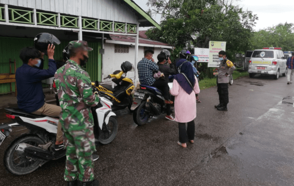 Memasuki Hari Ke-5 Lebaran, Koramil Mempawah Hilir Monitoring dan Pengawasan Tempat Wisata