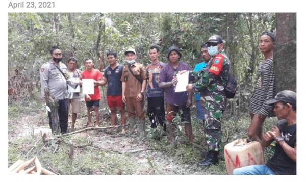 Aparat Hentikan Aktivitas PETI di Desa Kelakik