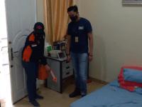 Satuan Reserse Kriminal Polres Metro Jakarta Barat Melakukan Olah TKP di Rumah di Setroni Kawanan Pencuri