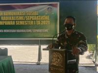 Kodim 1201 / Mph, Gelar Pembinaan Komsos Tangkal Radikalisme dan Separatisme