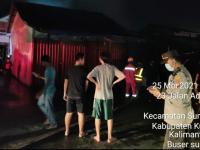 Kebakaran Kios Penjual Gas LPG 3 Kg Dan Bensin Pertamini Di Desa Limbung Kubu Raya, Kapolsek Sungai Raya Beberkan Kronologisnya