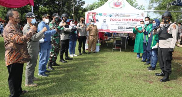 Kapolresta Tangerang Pimpin Tim Pendekar Raksa Mengamankan Pilkades PAW di 2 Desa