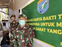 Denmadam XII/TPR Laksanakan Kegiatan Karya Bhakti TNI Bersama Masyarakat