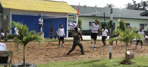 Prajurit Ajendam XII/Tpr selalu menjaga Jaga Kesehatan