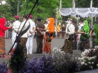 Ka. LPPM STTAL Hadiri Upacara Hari Jadi Kota Surabaya ke 728/2021