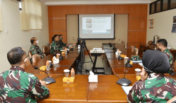 Kadep Akademik STTAL Menerima Kunjungan Tim Kerja Bahasa Disdikal di Kampus STTAL