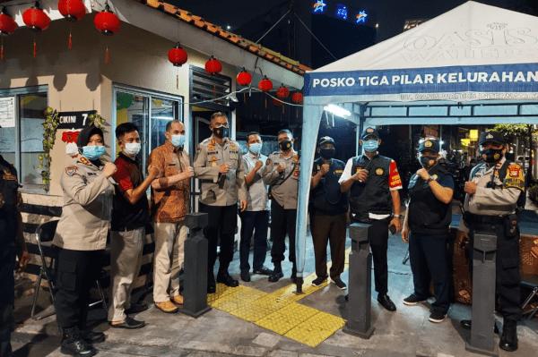 Kampung Tangguh Jaya RW.01, Jalan Cikini VII RT.016/01, Cikini, Menteng, Jakarta Pusat di Kunjungi Polda Metrojaya